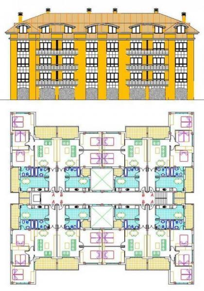 Proyecto de 40 viviendas