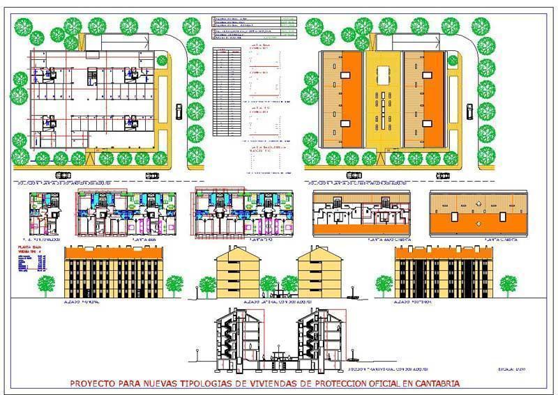 Proyecto de 80 viviendas de VPO