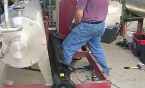 reparacion de enfriador de vinos  industrias vinavin