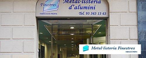 Metal·listeria Finestres