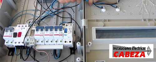 Instalaciones Eléctricas Cabeza