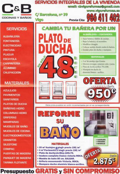Reforma Baño En Vigo:Cocinas y Baños, Reformas de casas, pisos, Vigo
